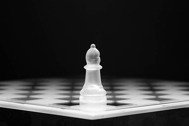Alone Piece on a playing board abjure stock pictures, royalty-free photos & images