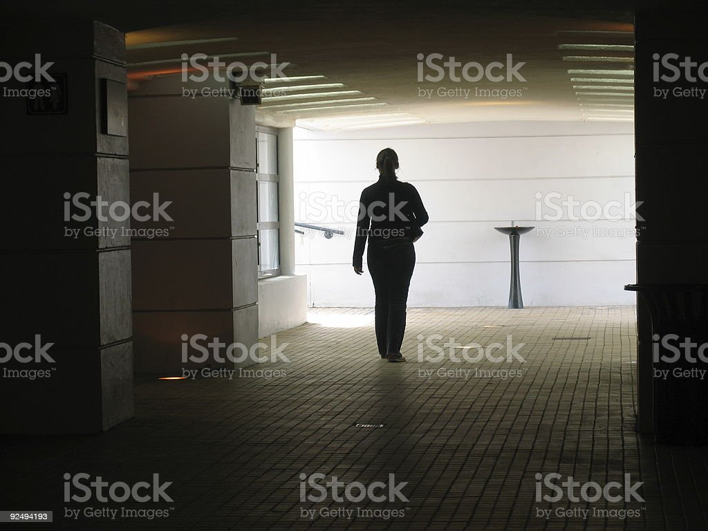 Alone royalty-free stock photo
