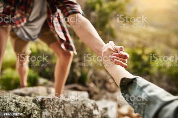 Photo of Alone we climb rocks, together we climb mountains