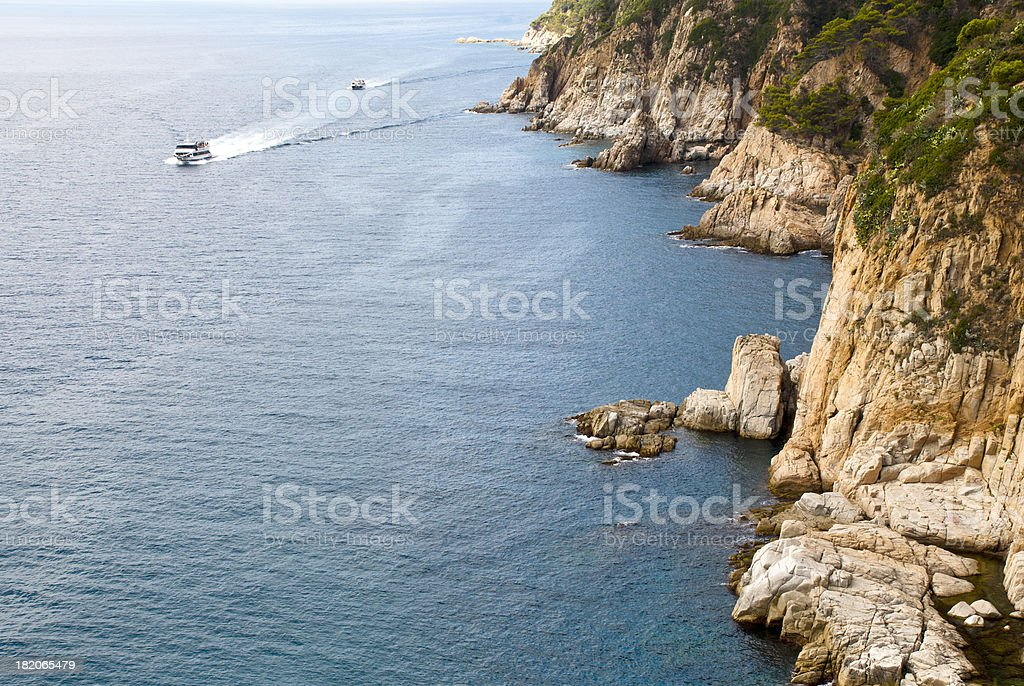 Along the coast of Spain... royalty-free stock photo