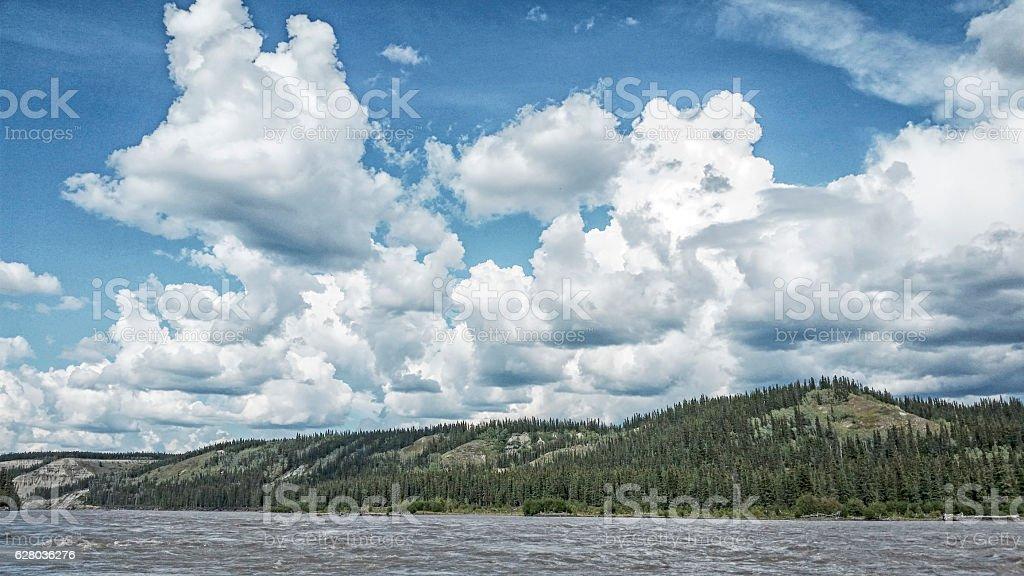 Along the Copper River stock photo
