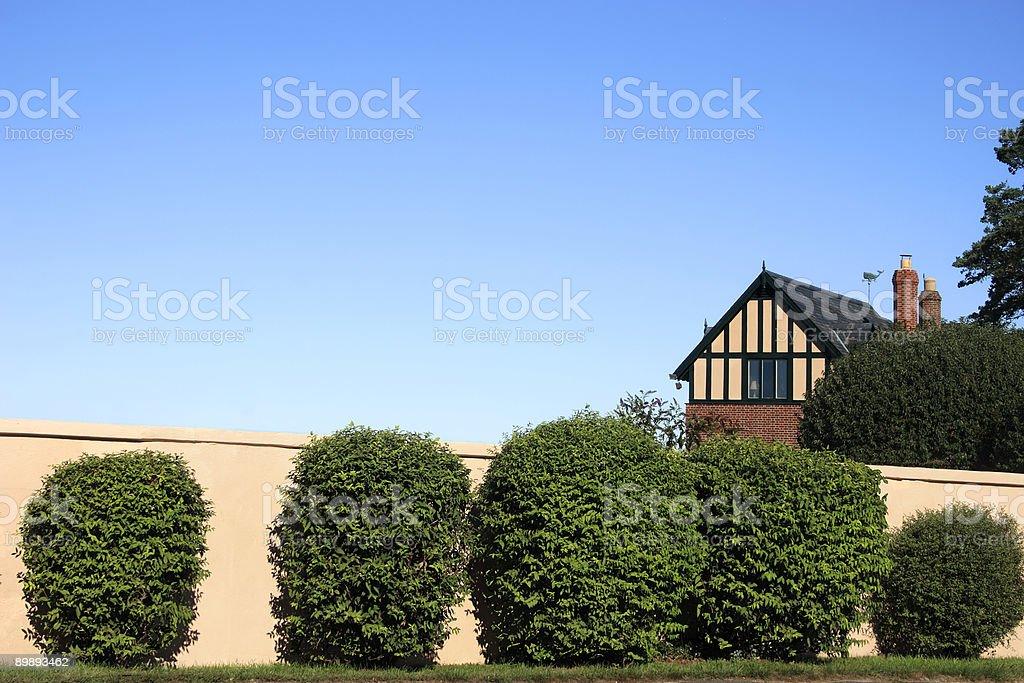 An der Wand Lizenzfreies stock-foto