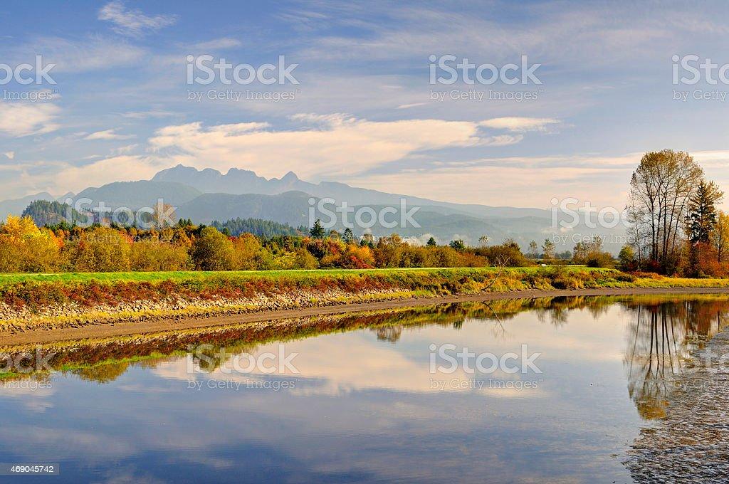 Alouette River stock photo