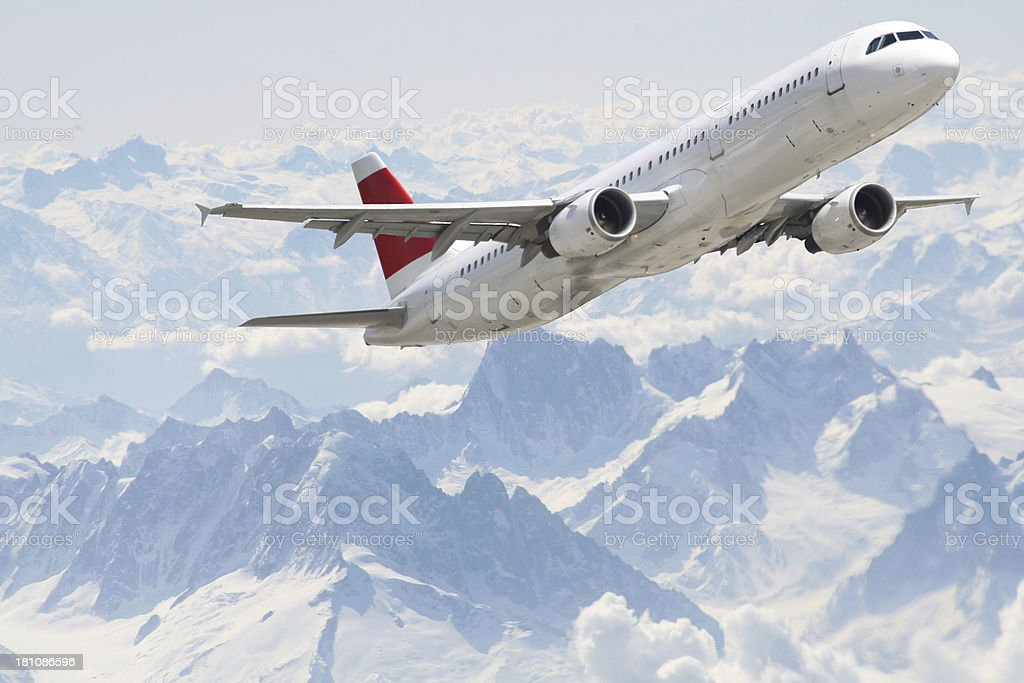 alp arplane royalty-free stock photo