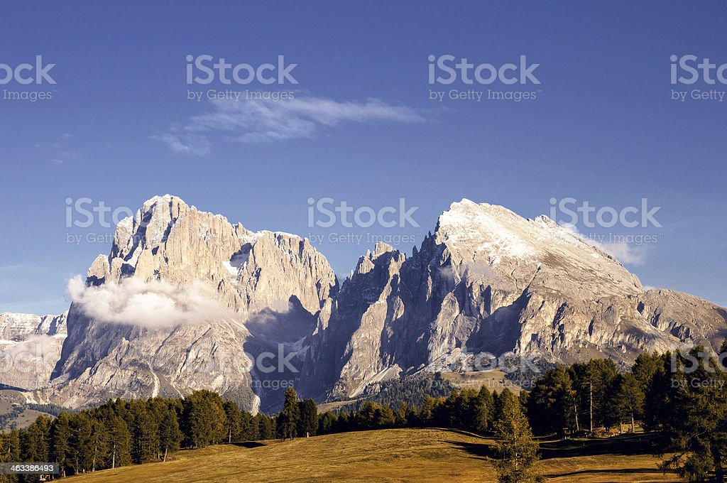 Alpe di SIusi stock photo