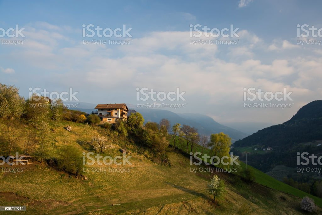 Alp Seiser, South Tyrol, Italy'n'n stock photo