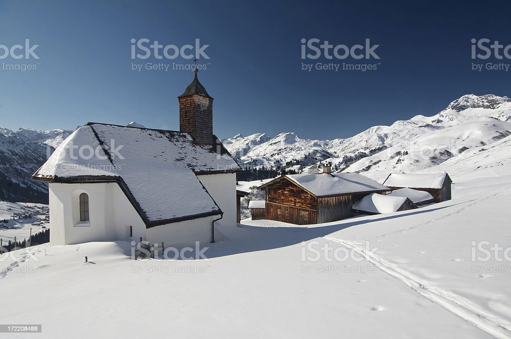 alpe buerrstegg II royalty-free stock photo