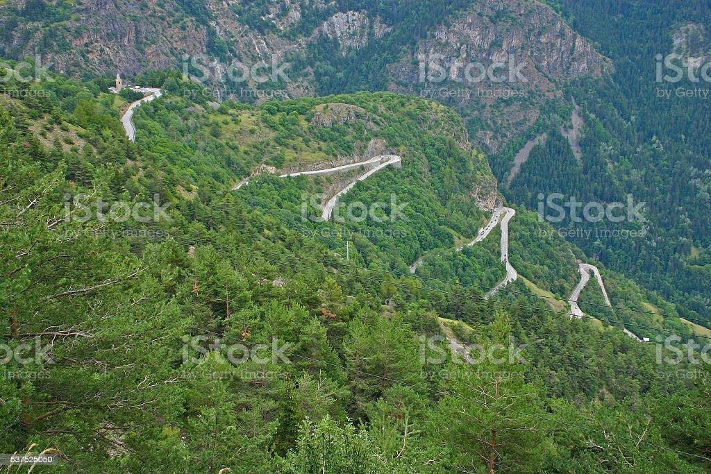 Alpe d'Huez - Curve 7-9-11-13 foto