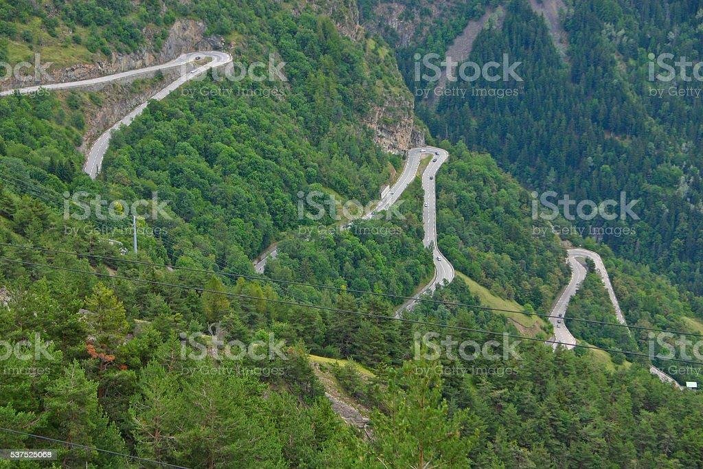 Alpe d'Huez - Curve 9-11-13 foto