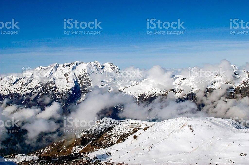 Alpe d'Huez - skiing foto