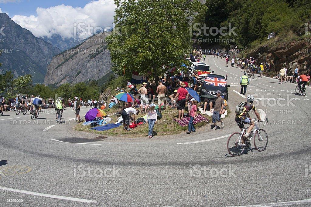 Alpe d'Huez Tour de France Stage foto