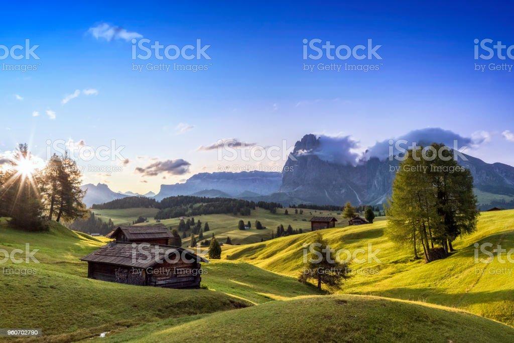 Alpe di Siusi, Südtirol, Italien – Foto