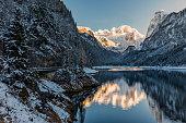Lake, Austria, Salzburg, Europe, Gosau