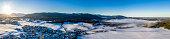 Alpenvorland Bavaria Germany Alps Blomberg Karwendel  Droneshot