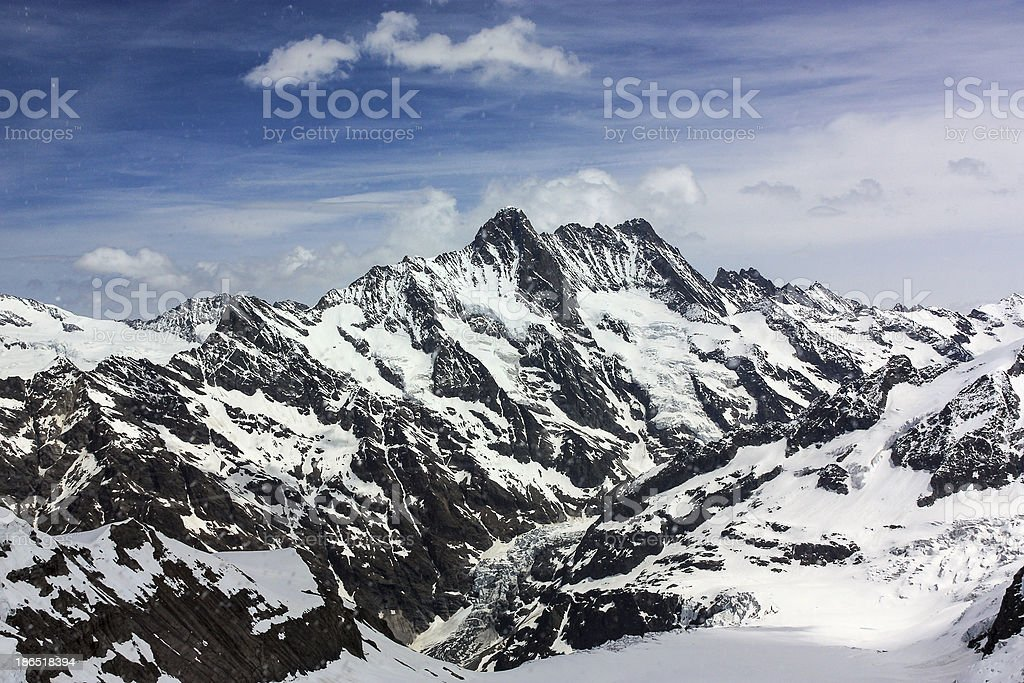 Alpes,Switzerland royalty-free stock photo