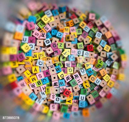 istock alphabet beads background 872885078