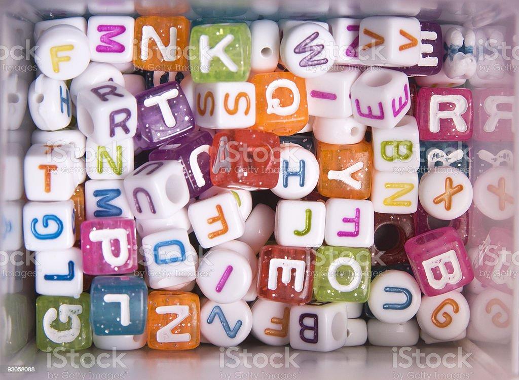Alphabet Perlen – Foto