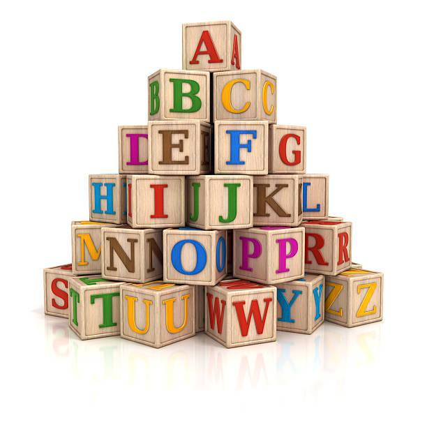Blocs Alphabet empilement - Photo