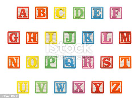 istock Alphabet Blocks Top 864708698