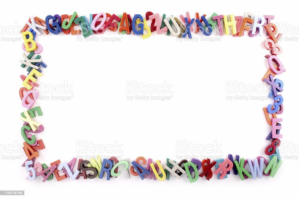 Alphabet Frame Stock Photo & More Pictures of Alphabet | iStock
