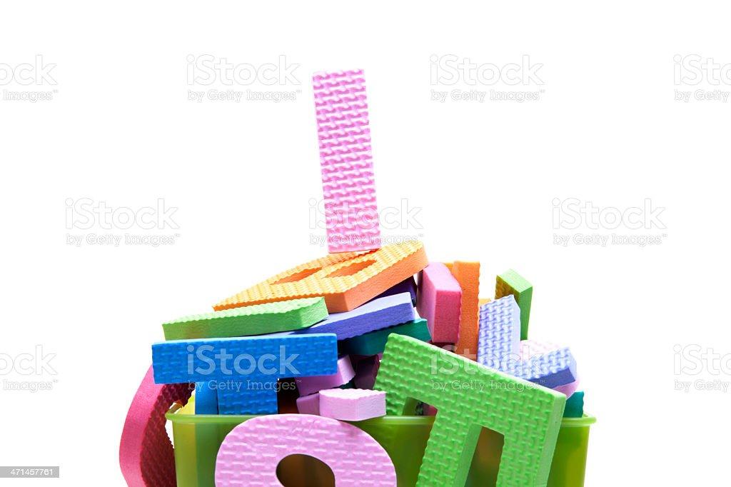alphabet I royalty-free stock photo
