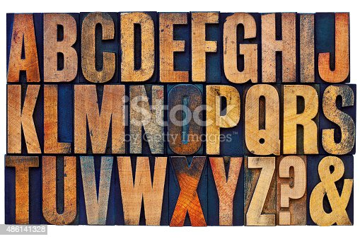 istock alphabet in letterpress wood type blocks 486141328