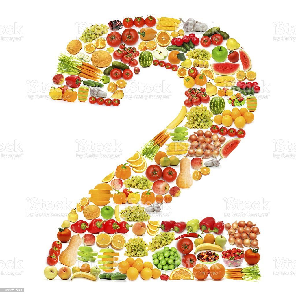 alphabet made of many fruits and vegetables stock photo 153381580