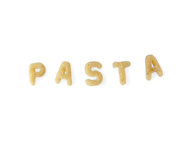 Alphabet noodles spelling
