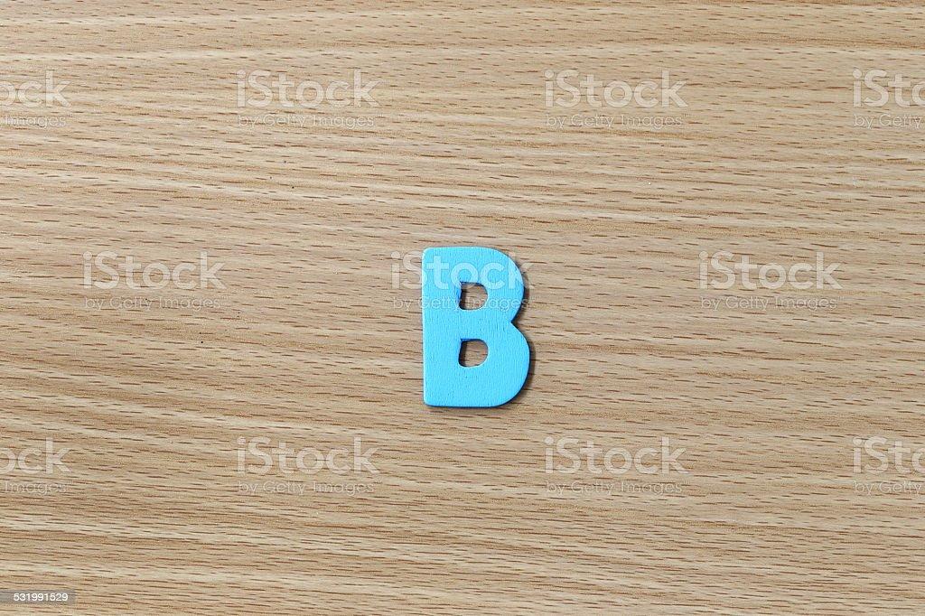 alphabet of English language. stock photo