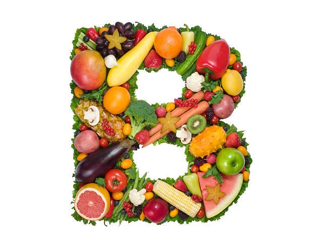 Alphabet of Health - B stock photo