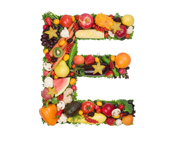 Alphabet of Health - E stock photo