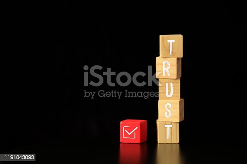 939533958 istock photo Alphabet Of Word Trust 1191043093
