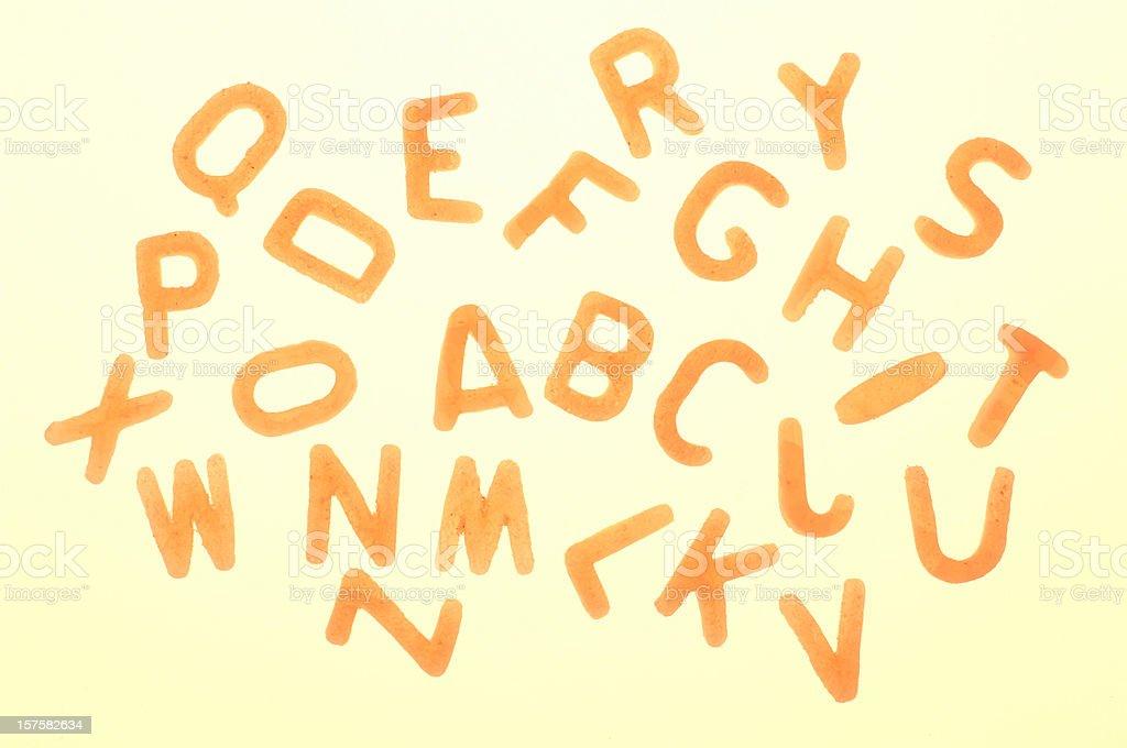 Alphabet Nudeln Buchstaben – Foto