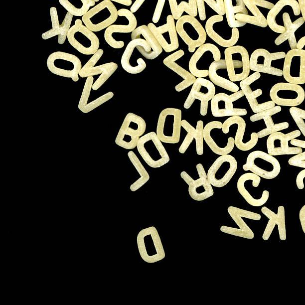 Alphabet pasta – Foto
