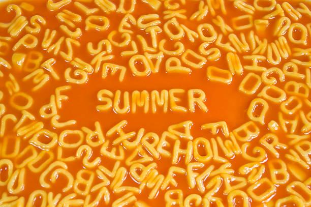 Alphabet Pasta-Sommer – Foto