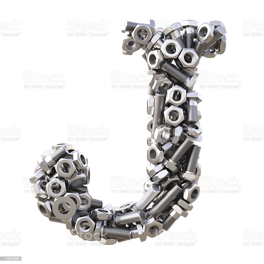 Alphabet royalty-free stock photo