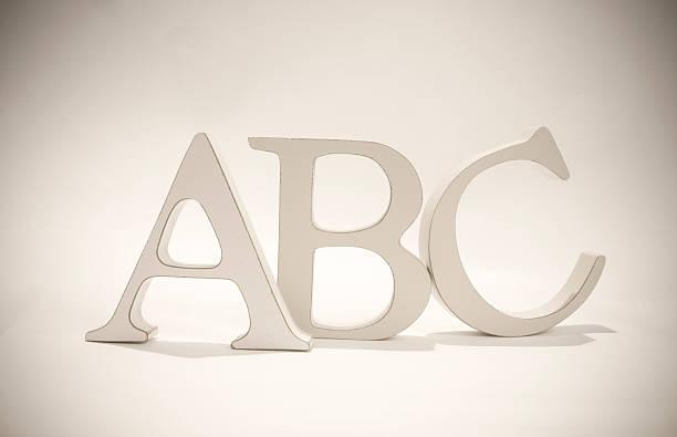 Lettre de l'Alphabet - Photo
