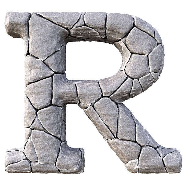 alphabet - stone font stock photos and pictures