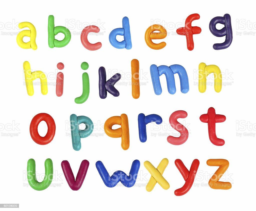Alfabet - Zbiór zdjęć royalty-free (Alfabet)