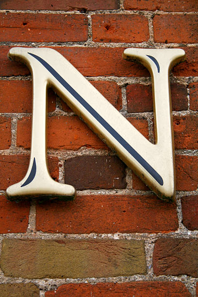 Alphabet Series Buchstabe N – Foto