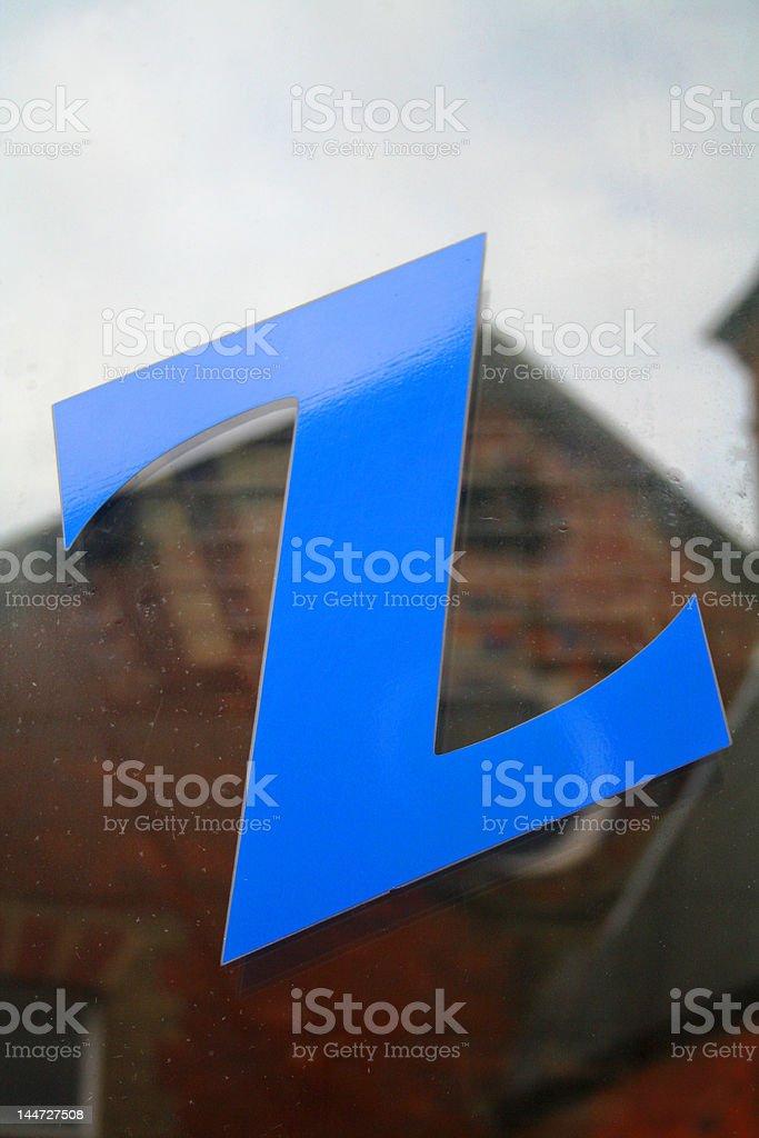 Alphabet Series Letter Z royalty-free stock photo