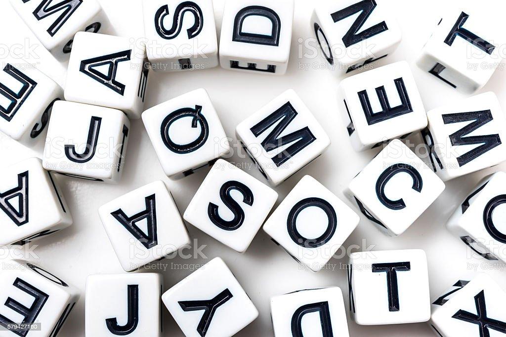 Buchstabennudelsuppen – Foto