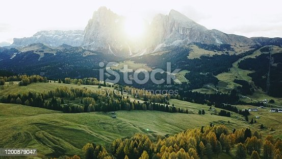 alpi di siusi landscape