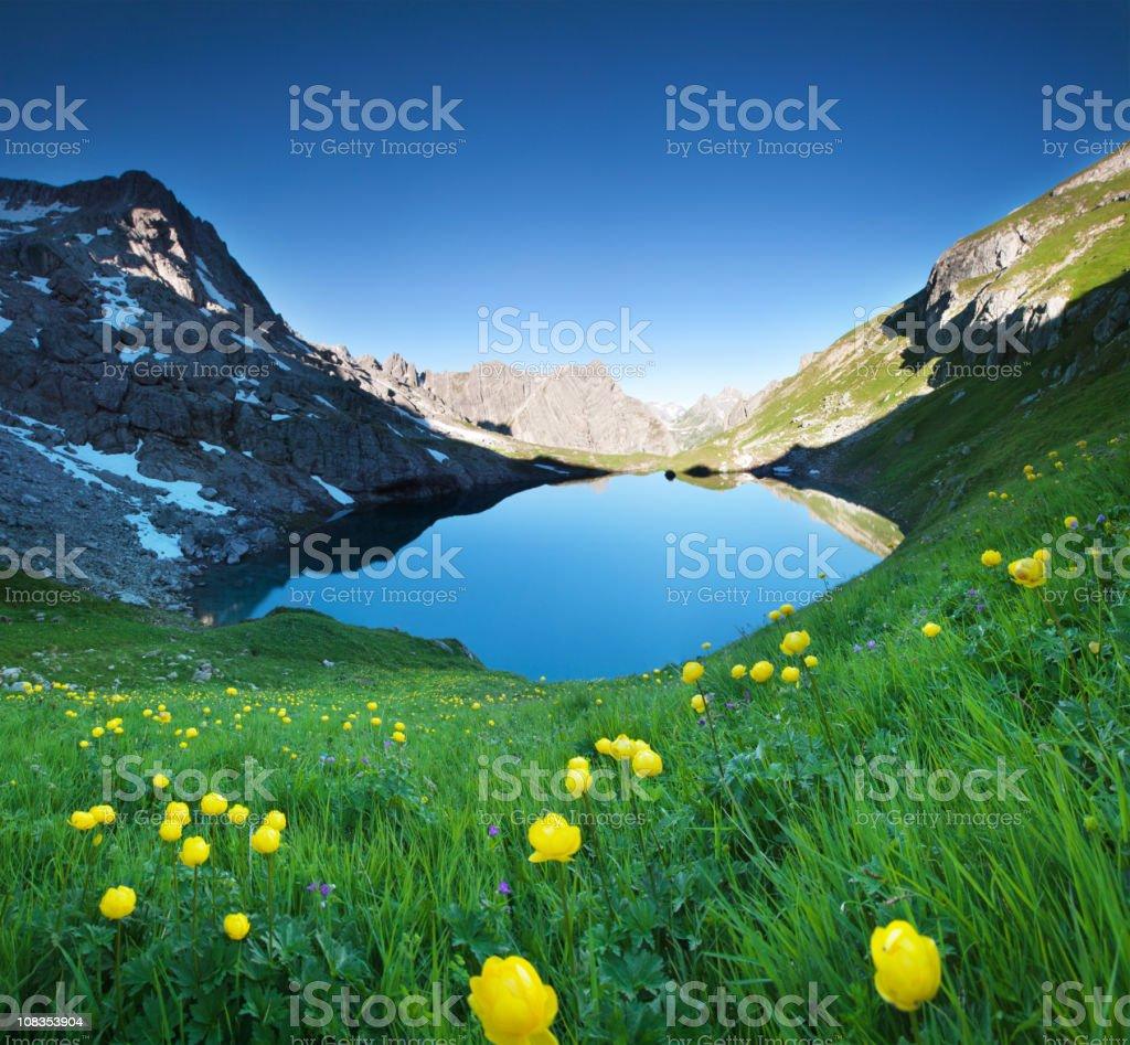 alpin lake gufelsee in tirol – ÖSTERREICH – Foto
