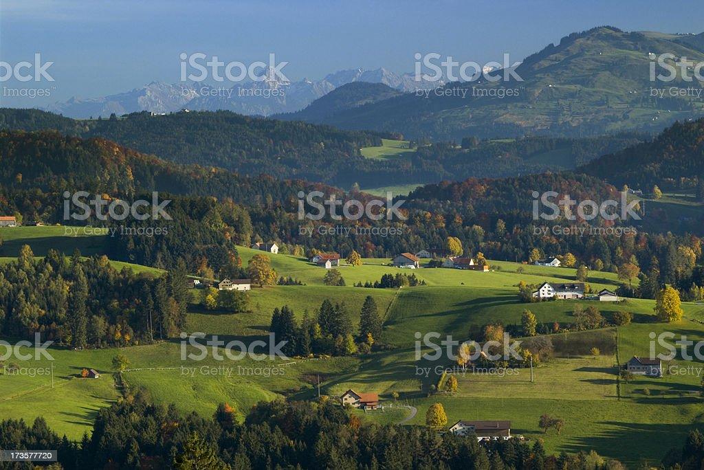 Alpine Autumn XL stock photo