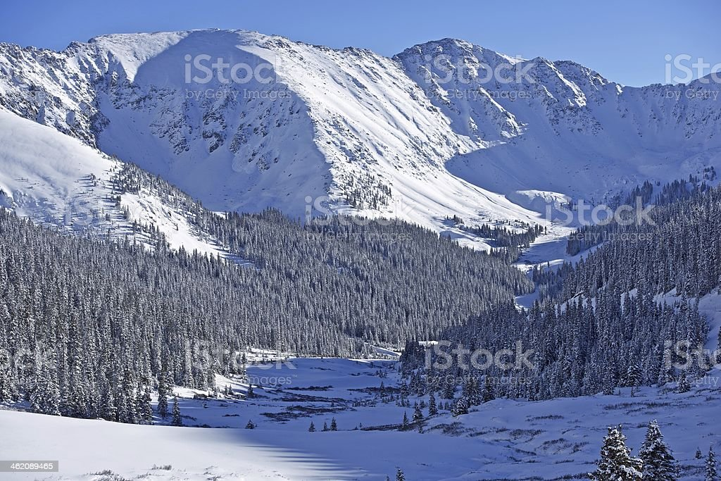 Alpine Colorado Scenery stock photo
