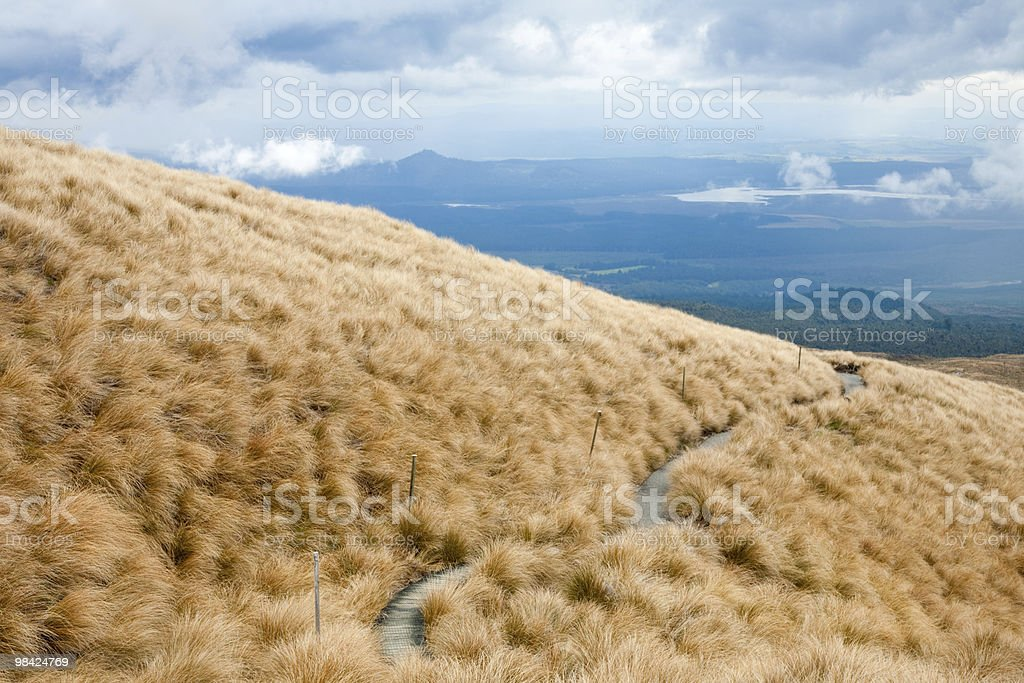 Alpine attraversamento foto stock royalty-free