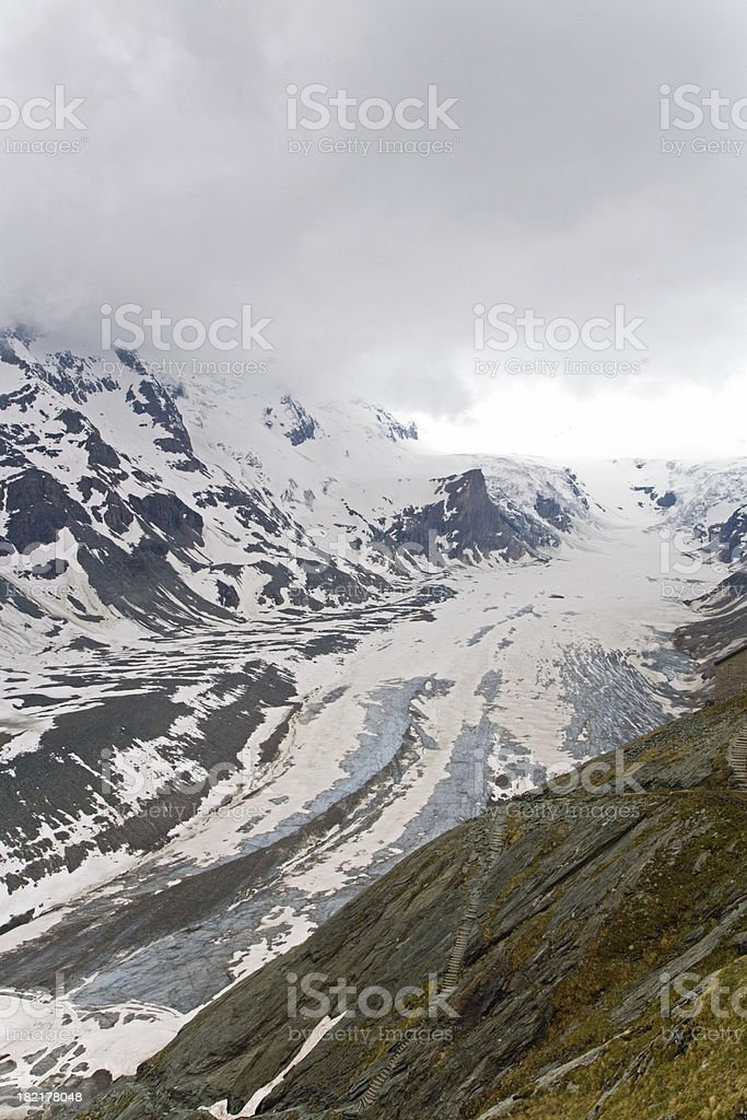 Alpine Glacier Mountain royalty-free stock photo