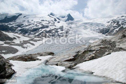 istock Alpine glacier 172848465