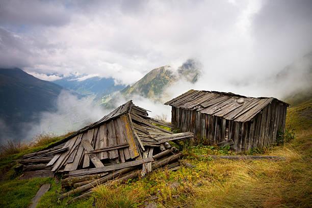 alpine hut in tirol, Österreich – Foto